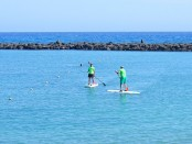 stand up paddling meer